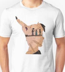 Peter Pan on Big Ben Unisex T-Shirt