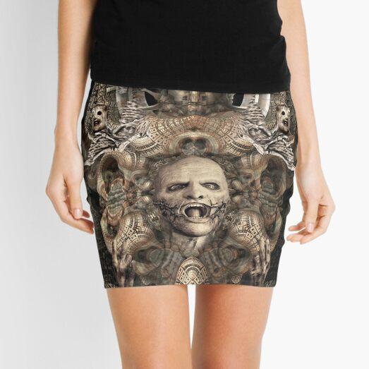WE ARE NOT YOUR KIND - Slipknot - Fanart - Corey Taylor Mini Skirt