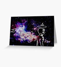 Eldritch Angel Greeting Card