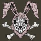 Bunny Skull by ZugArt