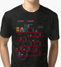 Donkey Kong Arcade Tri-blend T-Shirt