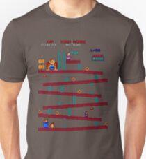 Donkey Kong Arcade Unisex T-Shirt