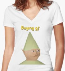 Buying GF Women's Fitted V-Neck T-Shirt