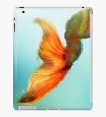 Abstract Mermaid Tail iPad Case/Skin