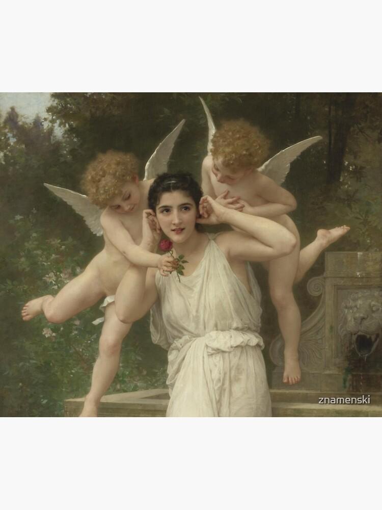 Realism Renaissance Famous Paintings: Youth, 1893, William-Adolphe Bouguereau by znamenski