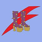 Glam Rock Rebel by myacideyes