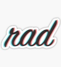 Rad 3D Sticker
