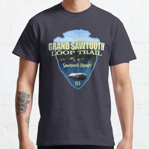 Grand Sawtooth Loop (arrowhead) Classic T-Shirt
