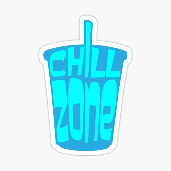 Softdrink Chill Zone Sticker