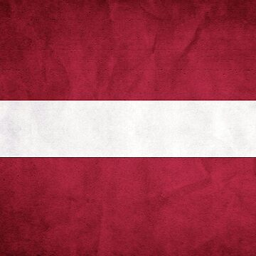 Latvian Flag by freestyleINK