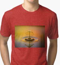 Water Droplet Tri-blend T-Shirt