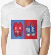 Two Pair Men's V-Neck T-Shirt