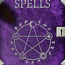 Spellbook Purple by TadPatterson