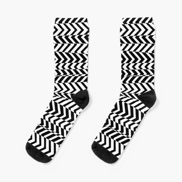 Illusionsmuster Socken
