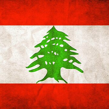 Lebanon Flag by freestyleINK