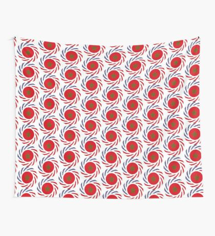 Moroccan American Multinational Patriot Flag Series Wall Tapestry