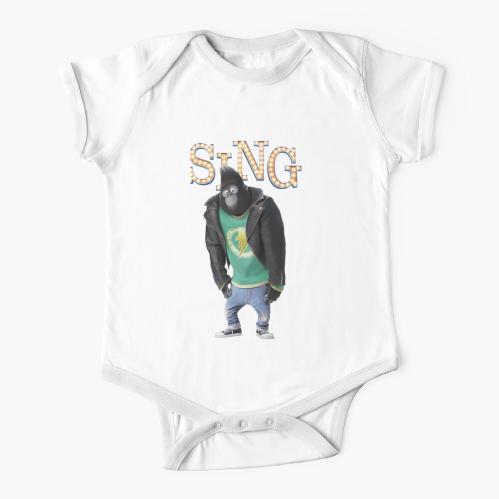 Johnny from SING movie Baby One-Piece