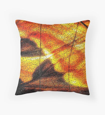 Hot Wing Throw Pillow