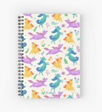 Unicorn Dreams Spiral Notebook