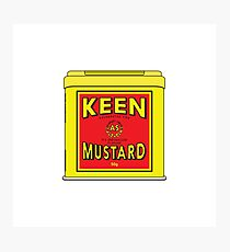 As Keen As Mustard Photographic Print