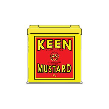 As Keen As Mustard by tastygoldfish
