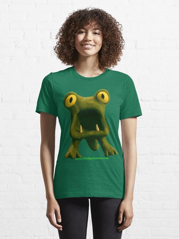 Alternate view of Horrible Monster Essential T-Shirt