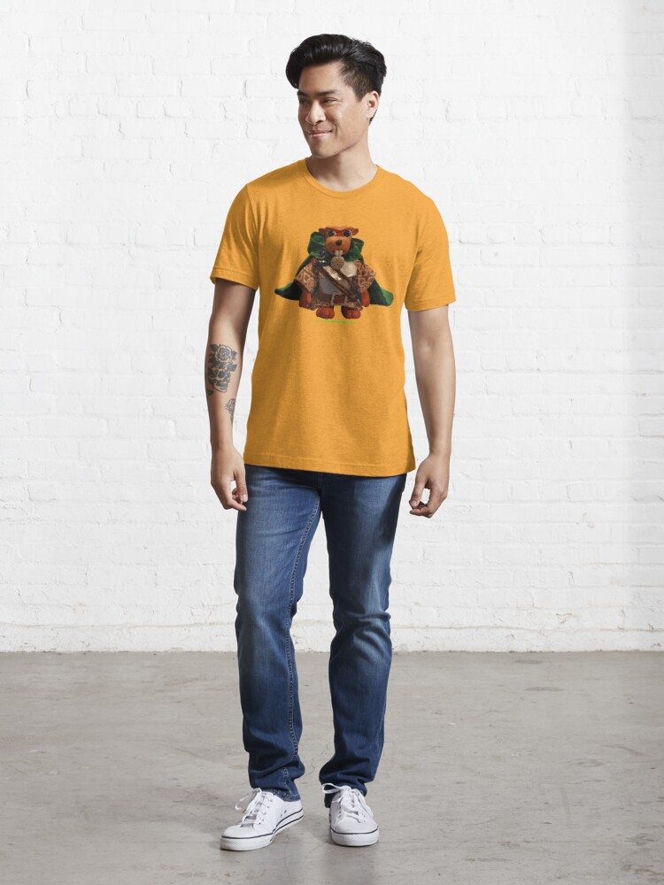 Alternate view of Lucky the Beaver Knight Essential T-Shirt