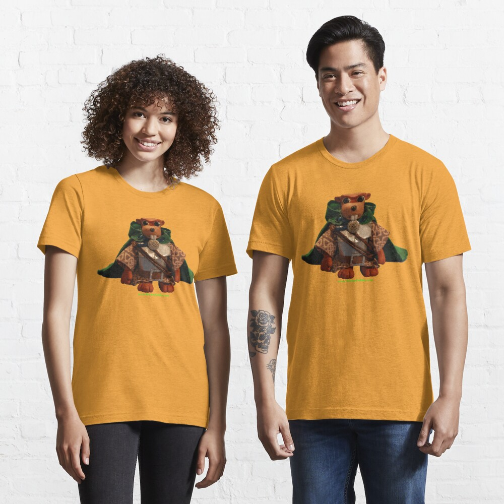 Lucky the Beaver Knight Essential T-Shirt