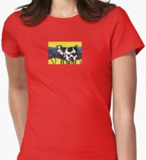 Hearty Cows  Womens Fitted T-Shirt
