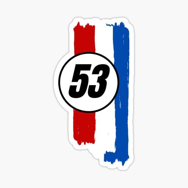 Herbie At Speed Sticker