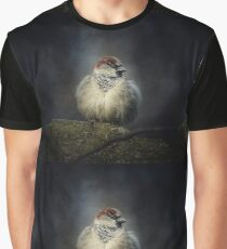 Bird sparrow Graphic T-Shirt