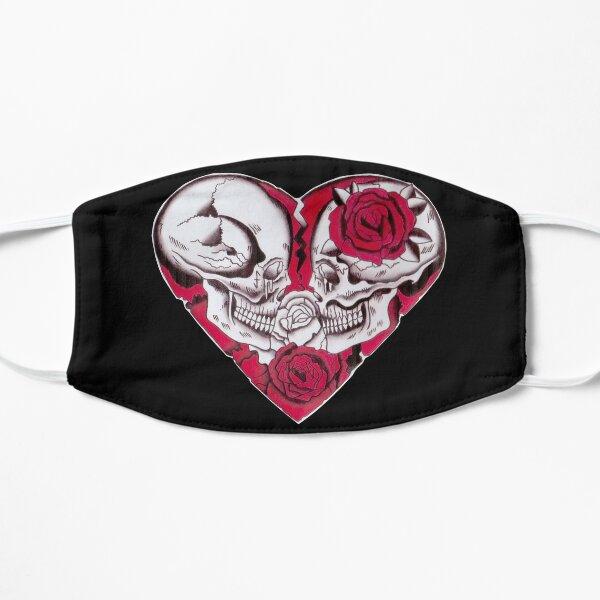 Love Will Tear us Apart Flat Mask