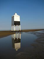 'Lighthouse Reflections', Burnham on Sea, Somerset by wiggyofipswich