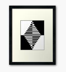 Geometric Diamond 1 Framed Print