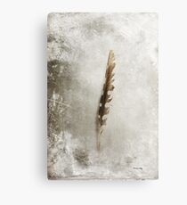 Standing Feather Canvas Print