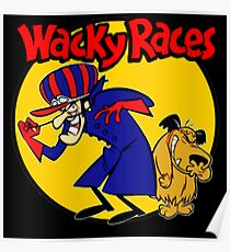 Wacky Races Boy and Dog Poster