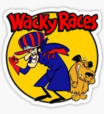Wacky Races Boy and Dog Sticker