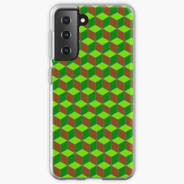 Optical Illusion Contemporary Camouflage Samsung Galaxy Soft Case