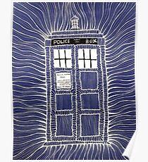 TARDIS Doodle Poster