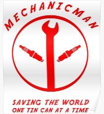 Mechanicman Poster