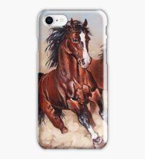 Runaway horses... iPhone Case/Skin