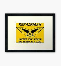 Repairman Framed Print