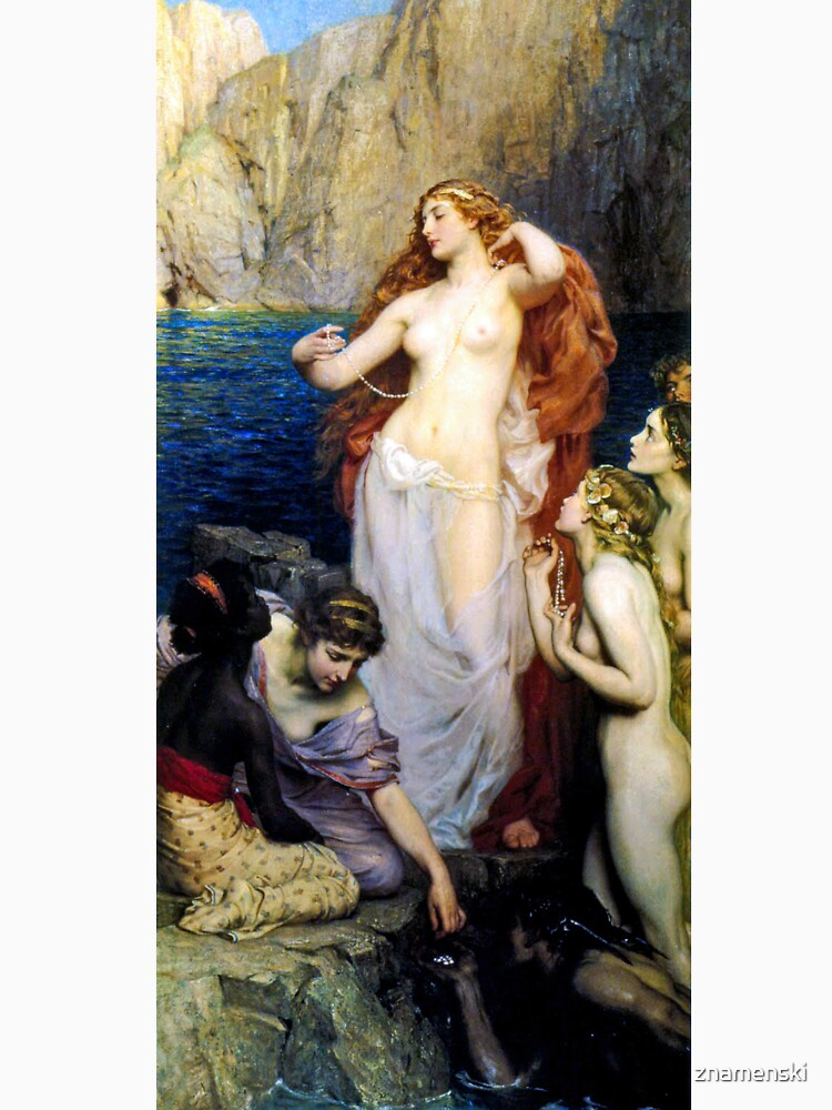 The Pearls Of Aphrodite – (Herbert James Draper)  Герберт Дрейпер - Жемчуг Афродиты by znamenski