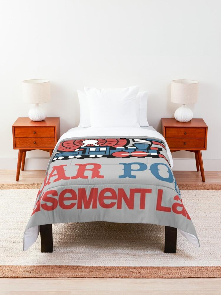 Alternate view of CP Amusement Land Design Comforter