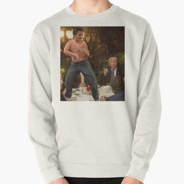 Gibby At Trump's Dinner Meme Pullover Sweatshirt