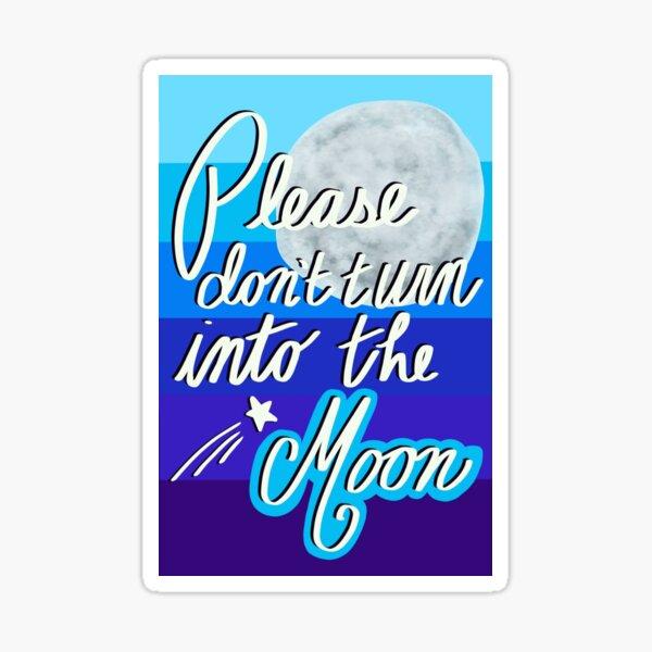 Avatar the Last Airbender Moon Love Note Sticker