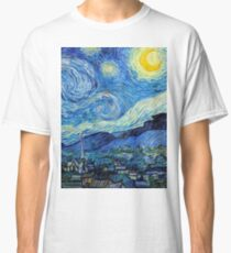 1889-Vincent van Gogh-The Starry Night-73x92 Classic T-Shirt