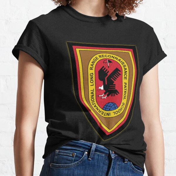 ILRRPS - International Long Range Reconnaissance Patrol School (Black Background) Classic T-Shirt