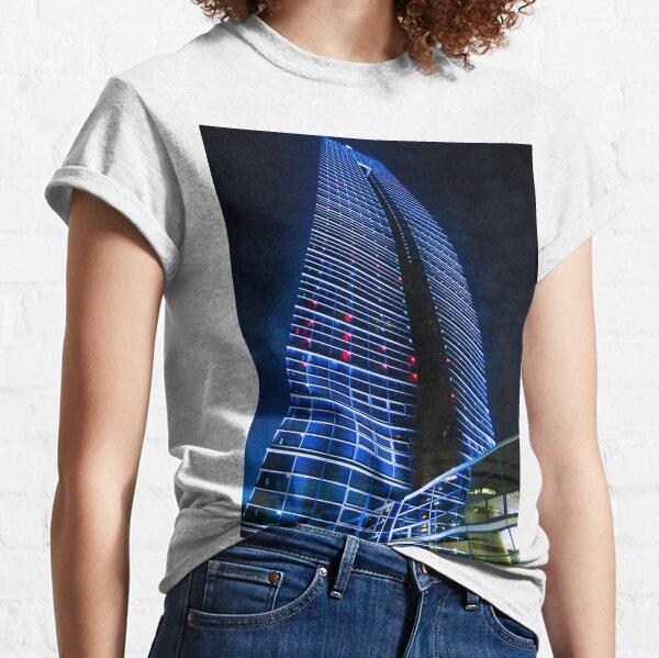 Photography - Fukuoka tower by night  Classic T-Shirt