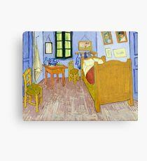 1889-Vincent van Gogh-Van Gogh's Bedroom in Arles-57x74 Metal Print
